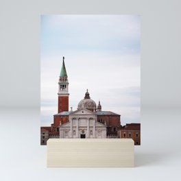 Venice San Giorgio Maggiore church Mini Art Print