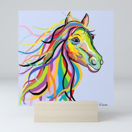 Horse of a Different Color Mini Art Print