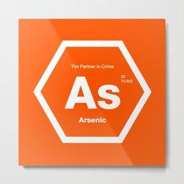 Arsenic Metal Print