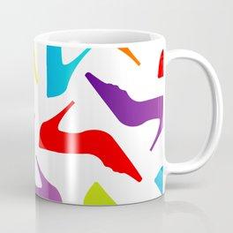 Colorful Womens heels Coffee Mug