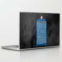 doctor who Laptop & iPad Skins featuring Doctor Who  by Luke Eckstein