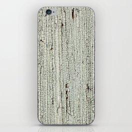 Crackled Wood rustic decor iPhone Skin