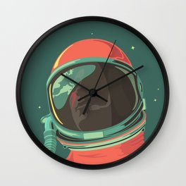 Ground Control to Major Tom Bowie Astronaut Design Wall Clock