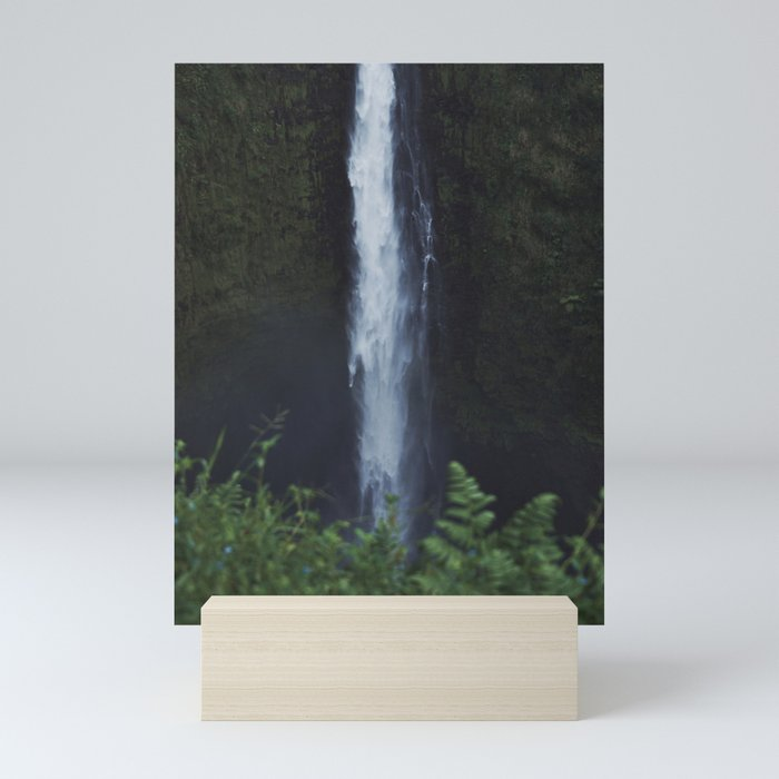 Wild Waterfall Mini Art Print