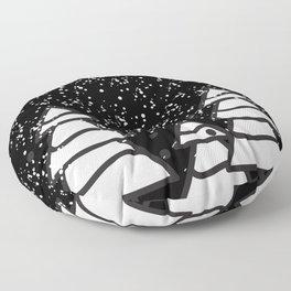 snowfall Floor Pillow