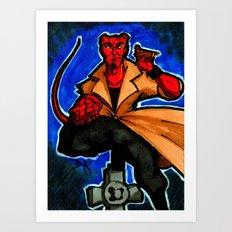 FanArt of my favorite little big devil... Art Print
