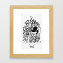 """""""I Know Why the Caged Bird Sings"""" Framed Art Print"""