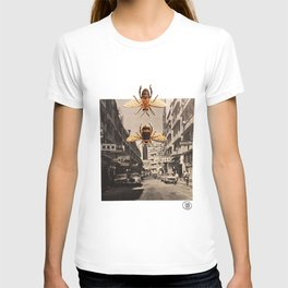 Bee Trouble in Little China T-shirt