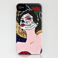 Day of the Dead Slim Case iPhone (4, 4s)
