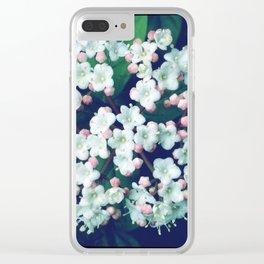 FlowerPower #18 Clear iPhone Case