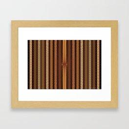 Multi-Colored Matrix, Optic Illusion, Kemetic Framed Art Print