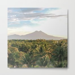 Mighty Volcano Metal Print