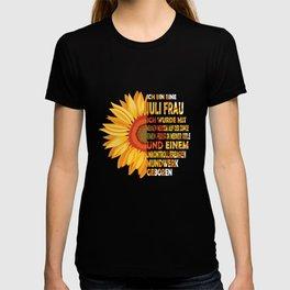 ich bin eine Juli frau ich wurde mit meine nerzem auf der zunce eimen feuer in meiner seele T-shirt