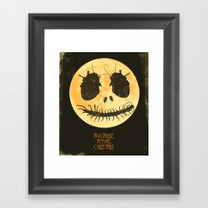 Nightmare Before Christmas - Movie Poster Framed Art Print