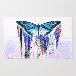 To Pimp a Butterfly 1990s Style Rug