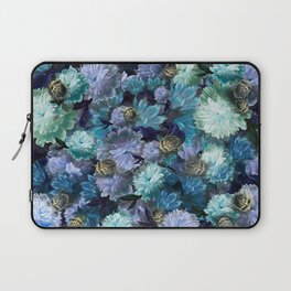 """""""Baroque floral with bugs"""" Laptop Sleeve"""