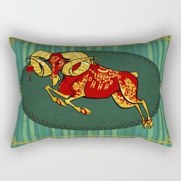 Year of the Sheep Rectangular Pillow