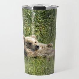 Siblings Make Good Pillows - Bear Cubs 1 Travel Mug