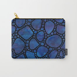 Blue stepping stones Carry-All Pouch