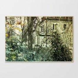 New Older House Nº2 Canvas Print