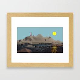 el Paraiso Framed Art Print