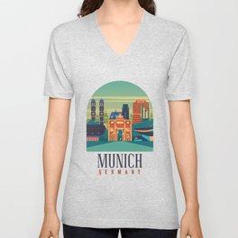 Best munich design online Unisex V-Neck