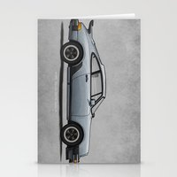 1975 Stationery Cards featuring 1975 Porsche 911 Turbo by Andy McDonnell