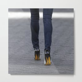 Excess Yellow Metal Print