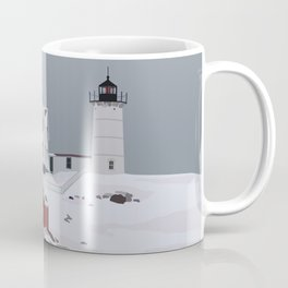 Nubble in Winter Coffee Mug