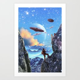JOIN THE CADETS Art Print