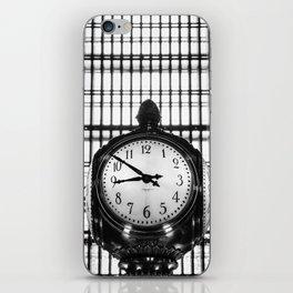 Clock in Grand Central Terminal iPhone Skin