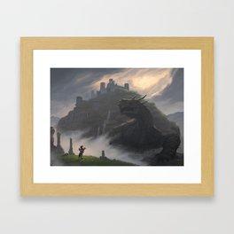 The Crawling Labyrinth Framed Art Print
