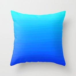 Ocean deep water Throw Pillow