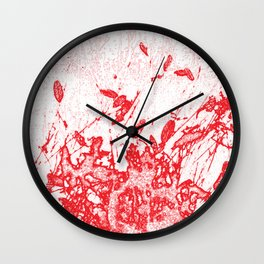 Coloured Rain Wall Clock