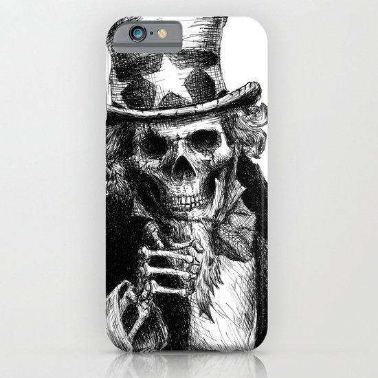 Uncle Sam iPhone & iPod Case