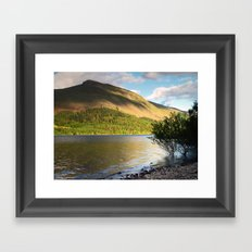 Thirlmere and Brown Crag Framed Art Print