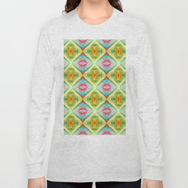 94 - colour abstract pattern Long Sleeve T-shirt