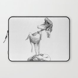 Crazy Bird Laptop Sleeve
