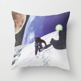 Nite Hike Throw Pillow