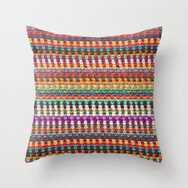 Crochet Afghan Pattern Throw Pillow