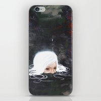siren iPhone & iPod Skins featuring Siren by Carly Janine Mazur