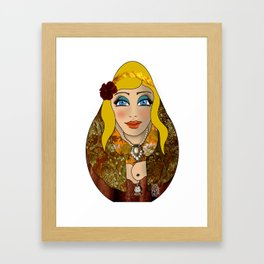 VanMoon Dika Framed Art Print