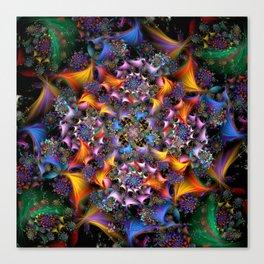 Spiral Symmetry Canvas Print