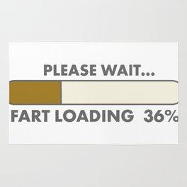 fart loading computer Rug