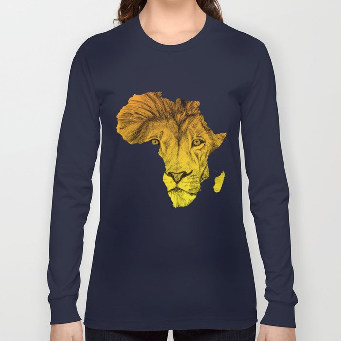 King Of The Jungle! Long Sleeve T-shirt