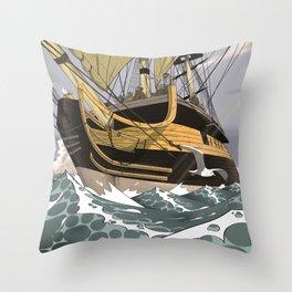 Sailors & Pirates Throw Pillow