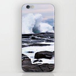 Ferocious Ocean -- Peggy's Cove, Nova Scotia  iPhone Skin