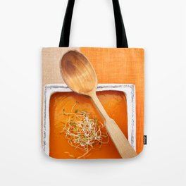 Pumpkin soup Tote Bag