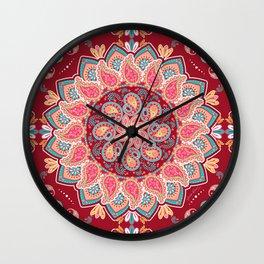 Elegant Paisley Wall Clock