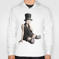 mad hatter Hoodies featuring Mad Hatter by Bephotography